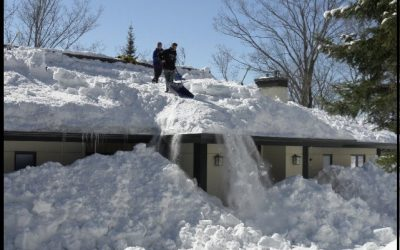 Safely Removing Snow from your Rooftop